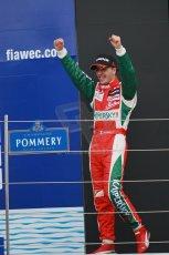 World © Octane Photographic Ltd. FIA European F3 Championship, Silverstone, UK, April 20th 2014 - Race 3. Race winner - Prema Powerteam - Dallara F312 Mercedes – Antonio Fuoco. Digital Ref : 0911lb1d1631