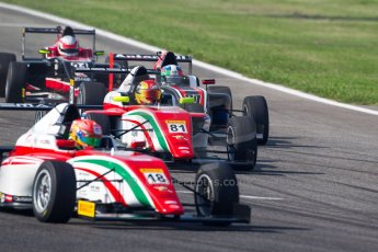 World © MaltaFormulaRacing. FIA F4 Italia Adria International Speedway - June 8th 2014. Tatuus F4 T014 Abarth. Digital Ref : 0989MS7501