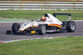 World © MaltaFormulaRacing. FIA F4 Italia Adria International Speedway - June 8th 2014. Tatuus F4 T014 Abarth. Digital Ref : 0989MS7768
