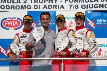 World © MaltaFormulaRacing. FIA F4 Italia Adria International Speedway - June 8th 2014. Tatuus F4 T014 Abarth. Digital Ref : 0989MS8968