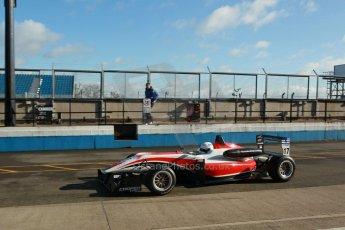 World © Octane Photographic Ltd. Cooper Tyres British Formula 3 Media Day, Castle Donington, Tuesday 8th April 2014. Fortec Motorsports - Dallara F312 Mercedes HWA – Alex Gill. Digital Ref : 0903lb1d9687