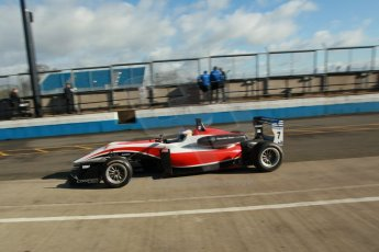 World © Octane Photographic Ltd. Cooper Tyres British Formula 3 Media Day, Castle Donington, Tuesday 8th April 2014. Fortec Motorsports - Dallara F312 Mercedes HWA – Alex Gill. Digital Ref : 0903lb1d9712