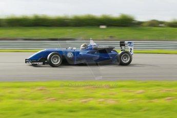 World © Octane Photographic Ltd. Cooper Tyres British Formula 3 Media Day, Castle Donington, Tuesday 8th April 2014. Carlin - Dallara F310 Volkwagen - Sam Brabham. Digital Ref : 0903lb1d9812