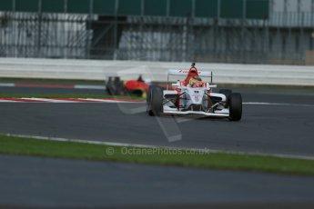 World © Octane Photographic Ltd. BRDC Formula 4 Qualifying, Silverstone, UK, Saturday 16th August 2014. MSV F4-013. Lanan Racing. Struan Moore. Digital Ref : 1075LB1D4703