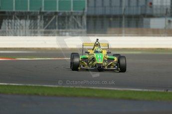 World © Octane Photographic Ltd. BRDC Formula 4 Qualifying, Silverstone, UK, Saturday 16th August 2014. MSV F4-013. Petrolball Racing Limited. Gaetano Di Mauro. Digital Ref : 1075LB1D4733