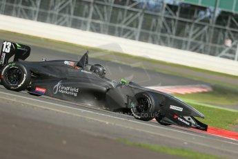 World © Octane Photographic Ltd. BRDC Formula 4 Qualifying, Silverstone, UK, Saturday 16th August 2014. MSV F4-013. Michael Claessens. Digital Ref : 1075LB1D4738