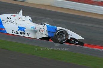 World © Octane Photographic Ltd. BRDC Formula 4 Qualifying, Silverstone, UK, Saturday 16th August 2014. MSV F4-013. Douglas Motorsport. Rodrigo Fonseca. Digital Ref : 1075LB1D4811