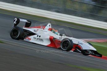 World © Octane Photographic Ltd. BRDC Formula 4 Qualifying, Silverstone, UK, Saturday 16th August 2014. MSV F4-013. Douglas Motorsport. Charlie Eastwood. Digital Ref : 1075LB1D4830