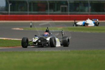World © Octane Photographic Ltd. BRDC Formula 4 Qualifying, Silverstone, UK, Saturday 16th August 2014. MSV F4-013. Meridian Racing. Connor Jupp. Digital Ref : 1075LB1D4945
