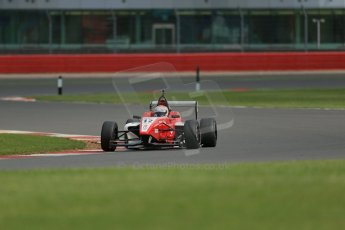 World © Octane Photographic Ltd. BRDC Formula 4 Qualifying, Silverstone, UK, Saturday 16th August 2014. MSV F4-013. Hillspeed. Alfredo Zabalza. Digital Ref : 1075LB1D4996