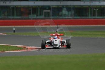 World © Octane Photographic Ltd. BRDC Formula 4 Qualifying, Silverstone, UK, Saturday 16th August 2014. MSV F4-013. Lanan Racing. George Russell. Digital Ref : 1075LB1D4999