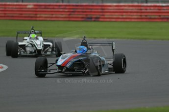 World © Octane Photographic Ltd. BRDC Formula 4 Championship. MSV F4-013. Silverstone, Sunday 27th April 2014. Sean Walkinshaw Racing (SWR) – Jordan Albert. Digital Ref : 0914lb1d8963
