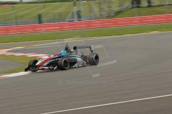 World © Octane Photographic Ltd. BRDC Formula 4 Championship. MSV F4-013. Silverstone, Sunday 27th April 2014. Sean Walkinshaw Racing (SWR) – Jordan Albert. Digital Ref : 0916lb1d2240