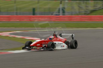 World © Octane Photographic Ltd. BRDC Formula 4 Championship. MSV F4-013. Silverstone, Sunday 27th April 2014. Hillspeed - Rahul Raj Mayer. Digital Ref : 0916lb1d2314