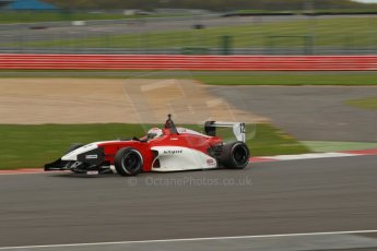 World © Octane Photographic Ltd. BRDC Formula 4 Championship. MSV F4-013. Silverstone, Sunday 27th April 2014. Hillspeed - Alfredo Zabalza. Digital Ref : 0916lb1d2334