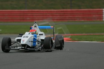 World © Octane Photographic Ltd. BRDC Formula 4 Championship. MSV F4-013. Silverstone, Sunday 27th April 2014. Douglas Motorsport - Diego Menchaca. Digital Ref : 0916lb1d9588