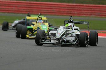 World © Octane Photographic Ltd. BRDC Formula 4 Championship. MSV F4-013. Silverstone, Sunday 27th April 2014. Sean Walkinshaw Racing (SWR) – Diego Borrelli. Digital Ref : 0916lb1d9644
