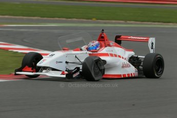 World © Octane Photographic Ltd. BRDC Formula 4 Championship. MSV F4-013. Silverstone, Sunday 27th April 2014. Lanan Racing – George Russell. Digital Ref : 0916lb1d9698