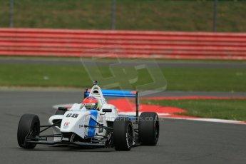 World © Octane Photographic Ltd. BRDC Formula 4 Championship. MSV F4-013. Silverstone, Sunday 27th April 2014. Douglas Motorsport - Diego Menchaca. Digital Ref : 0916lb1d9792