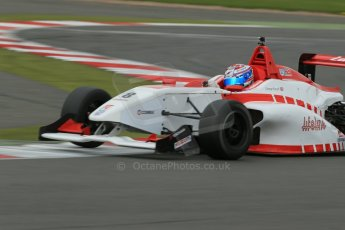 World © Octane Photographic Ltd. BRDC Formula 4 Championship. MSV F4-013. Silverstone, Sunday 27th April 2014. Lanan Racing – George Russell. Digital Ref : 0916lb1d9873