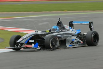 World © Octane Photographic Ltd. BRDC Formula 4 Championship. MSV F4-013. Silverstone, Sunday 27th April 2014. Enigma Motorsport – Falco Wauer. Digital Ref : 0916lb1d9944