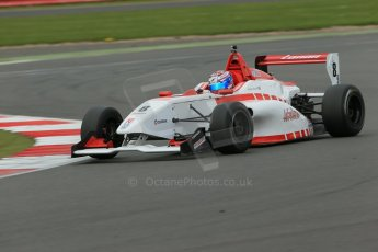 World © Octane Photographic Ltd. BRDC Formula 4 Championship. MSV F4-013. Silverstone, Sunday 27th April 2014. Lanan Racing – George Russell. Digital Ref : 0916lb1d9951