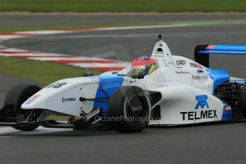 World © Octane Photographic Ltd. BRDC Formula 4 Championship. MSV F4-013. Silverstone, Sunday 27th April 2014. Douglas Motorsport - Diego Menchaca. Digital Ref : 0916lb1d9962