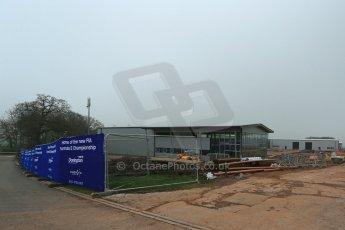 World © Octane Photographic Ltd. 3rd April 2014 - FIA Formula E Head Quarters under construction - Donington Park. Digital Ref : 0890lb1d3363