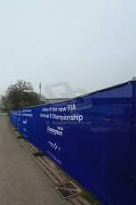 World © Octane Photographic Ltd. 3rd April 2014 - FIA Formula E Head Quarters under construction - Donington Park. Digital Ref : 0890lb1d3376