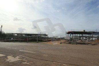 World © Octane Photographic Ltd. 4th March 2014 - FIA Formula E Head Quarters under construction - Donington Park. Digital Ref : 0890lb1d5234