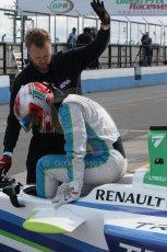 World © Octane Photographic Ltd. FIA Formula E testing – Donington Park 19th August 2014. Spark-Renault SRT_01E. TrulliGP - Jarno Trulli. Digital Ref : 1077LB1D5112