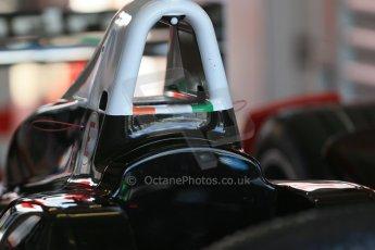 World © Octane Photographic Ltd. FIA Formula E testing – Donington Park 19th August 2014. Spark-Renault SRT_01E. Mahindra Racing. Digital Ref : 1077LB1D5516