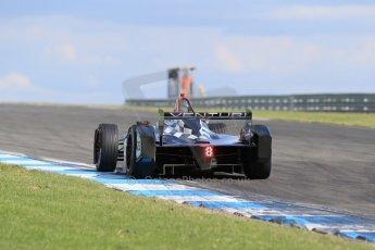 World © Octane Photographic Ltd. FIA Formula E testing – Donington Park 19th August 2014. Spark-Renault SRT_01E. Venturi - Nick Heidfeld. Digital Ref : 1077LB1D6075