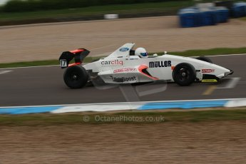 World © Octane Photographic Ltd. Donington Park test, Thursday 17th April 2014. Dunlop MSA Formula Ford Championship of Great Britain. SWB - James Webb – Sinter LA12/Scholar. Digital Ref : 0905lb1d0470