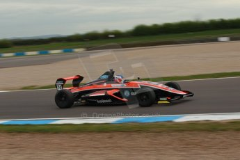 World © Octane Photographic Ltd. Donington Park test, Thursday 17th April 2014. Dunlop MSA Formula Ford Championship of Great Britain. Radical Motorsport - James Abbott - Mygale M12-SJ/Mountune. Digital Ref : 0905lb1d0487