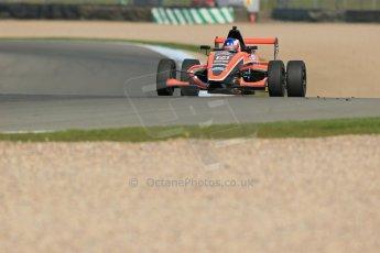 World © Octane Photographic Ltd. Donington Park test, Thursday 17th April 2014. Dunlop MSA Formula Ford Championship of Great Britain. Radical Motorsport - James Abbott - Mygale M12-SJ/Mountune. Digital Ref : 0905lb1d4202