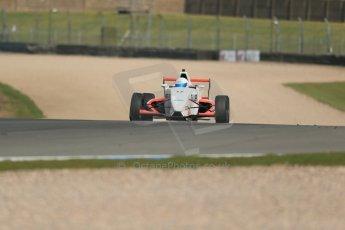 World © Octane Photographic Ltd. Donington Park test, Thursday 17th April 2014. Dunlop MSA Formula Ford Championship of Great Britain. SWB - James Webb – Sinter LA12/Scholar. Digital Ref : 0905lb1d4252
