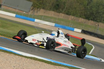 World © Octane Photographic Ltd. Donington Park test, Thursday 17th April 2014. Dunlop MSA Formula Ford Championship of Great Britain. SWB - James Webb – Sinter LA12/Scholar. Digital Ref : 0905lb1d4360