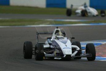 World © Octane Photographic Ltd. Donington Park test, Thursday 17th April 2014. Dunlop MSA Formula Ford Championship of Great Britain. JTR - Sam Brabham - Mygale M12-SJ/Mountune. Digital Ref : 0905lb1d4745