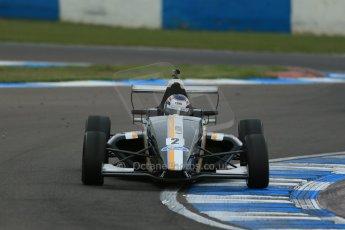 World © Octane Photographic Ltd. Donington Park test, Thursday 17th April 2014. Dunlop MSA Formula Ford Championship of Great Britain. JTR - Jayde Kruger - Mygale M12-SJ/Mountune. Digital Ref : 0905lb1d4832