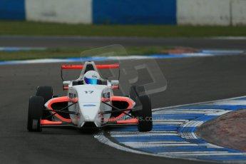 World © Octane Photographic Ltd. Donington Park test, Thursday 17th April 2014. Dunlop MSA Formula Ford Championship of Great Britain. SWB - James Webb – Sinter LA12/Scholar. Digital Ref : 0905lb1d4855