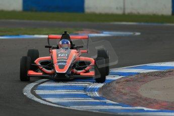 World © Octane Photographic Ltd. Donington Park test, Thursday 17th April 2014. Dunlop MSA Formula Ford Championship of Great Britain. Radical Motorsport - James Abbott - Mygale M12-SJ/Mountune. Digital Ref : 0905lb1d4885
