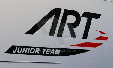 World © Octane Photographic Ltd. Eurocup Formula Renault 2.0 Championship testing. Jerez de la Frontera, Thursday 27th March 2014. ART Junior Team logo. Digital Ref :  0900cb1d6995
