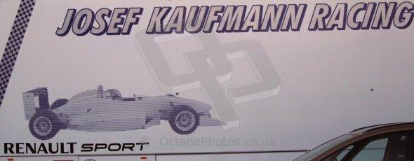 World © Octane Photographic Ltd. Eurocup Formula Renault 2.0 Championship testing. Jerez de la Frontera, Thursday 27th March 2014. Josef Kaufmann Racing logo. Digital Ref :  0900cb1d7354