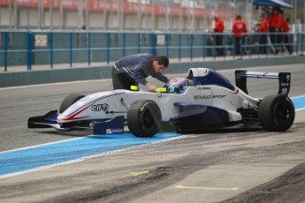 World © Octane Photographic Ltd. Eurocup Formula Renault 2.0 Championship testing. Jerez de la Frontera, Thursday 27th March 2014. Koiranen GP – George Russell. Digital Ref :  0900cb1d7453