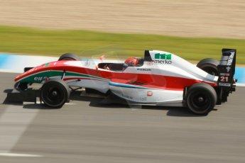 World © Octane Photographic Ltd. Eurocup Formula Renault 2.0 Championship testing. Jerez de la Frontera, Thursday 27th March 2014. Prema Powerteam – Hans Villemi. Digital Ref :  0900cb1d7680