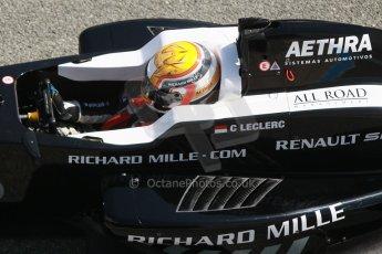 World © Octane Photographic Ltd. Eurocup Formula Renault 2.0 Championship testing. Jerez de la Frontera, Thursday 27th March 2014. Fortec Motorsports – Charles Leclerc. Digital Ref :  0900cb1d7753