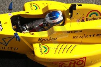 World © Octane Photographic Ltd. Eurocup Formula Renault 2.0 Championship testing. Jerez de la Frontera, Thursday 27th March 2014. Josef Kaufmann Racing – Gistav Malja. Digital Ref :  0900cb1d7769