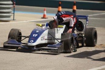 World © Octane Photographic Ltd. Eurocup Formula Renault 2.0 Championship testing. Jerez de la Frontera, Thursday 27th March 2014. Koiranen GP – Nicholas Surguladze. Digital Ref :  0900cb1d7797