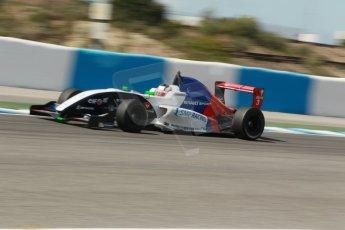 World © Octane Photographic Ltd. Eurocup Formula Renault 2.0 Championship testing. Jerez de la Frontera, Thursday 27th March 2014. Tech 1 Racing – Egor Orudzhev. Digital Ref :  0900cb1d7808